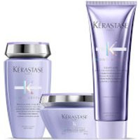 Kerastase Blond Absolu Ultra Violet Shampoo, Masque and Conditioner Trio