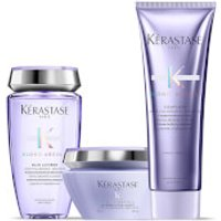Kerastase Blond Absolu Ultra Violet Shampoo, Masque and Conditioner Trio