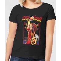 Flash Gordon Retro Movie Women's T-Shirt - Black - XXL - Black - Movie Gifts