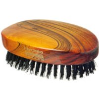 Hydrea London Military Hairbrush Gloss Finish with Pure Black Boar Bristle (Hard Strength) FSC Certi