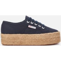 Superga Women's 2790 Cotropew Trainers - Navy - UK 4
