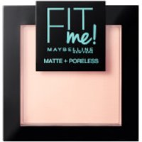 Maybelline Fit Me! Matte and Poreless Powder 9g (Various Shades) - 102 Fair Ivory