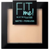 Maybelline Fit Me! Matte and Poreless Powder 9g (Various Shades) - 110 Porcelain