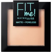 Maybelline Fit Me! Matte and Poreless Powder 9g (Various Shades) - 128 Warm Nude