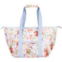 Joules Floral Picnic Carrier Bag - White