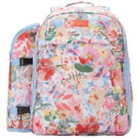 Joules Floral Picnic Rucksack - White