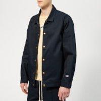 Champion Men's Tape Coach Jacket - Navy - XL - Blue