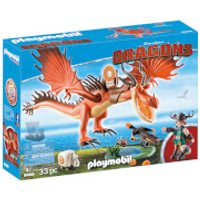 Playmobil DreamWorks Dragons Snotlout and Hookfang (9459)