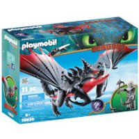 Playmobil DreamWorks Dragons Deathgripper with Grimmel (70039)