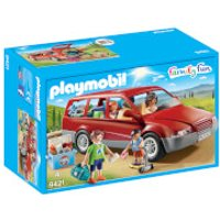 Playmobil Family Fun Family Car with Trailer Hitch (9421) - Fun Gifts
