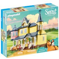 Playmobil DreamWorks Spirit Lucky's Happy Home (9475) - Home Gifts