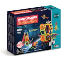 Magformers Space Episode Set - 55 Pieces