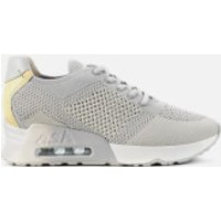 Ash Lucky Knit Runner Style Trainers - Pearl