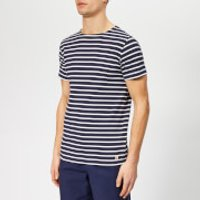Armor Lux Men's Hoedic Mariniere T-Shirt - Navire/Blanc - M