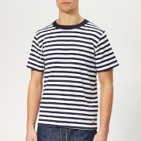 Armor Lux Men's Mc Heritage T-Shirt - Navire/Blanc - L