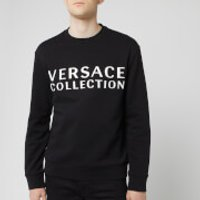 Versace Collection Men's Logo Sweatshirt - Black - S - Black