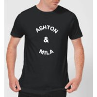 Ashton & Mila Men's T-Shirt - Black - XL - Black