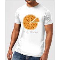 You Got A Pizza My Heart Men's T-Shirt - White - 4XL - White