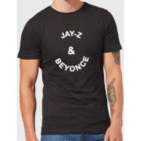 Jay-Z & Beyonce Men's T-Shirt - Black - 5XL - Black - Beyonce Gifts