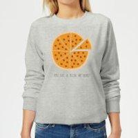 You Got A Pizza My Heart Women's Sweatshirt - Grey - XS - Grey