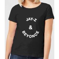Jay-Z & Beyonce Women's T-Shirt - Black - L - Black