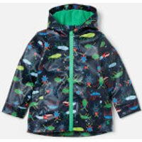 Joules Boy's Skipper Raincoat - Navy Beetle - 4 Years - Blue
