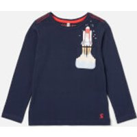 Joules Boy's Winston Jacket - Navy Rocket Pocket - 4 Years - Blue