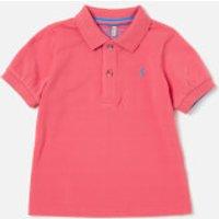 Joules Boys' Woody Polo Shirt - Dark Dahlia Pink - 5 Years - Pink