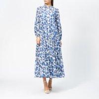 Diane von Furstenberg Women's Kiara Dress - Berries Ivory - S - Blue