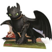 How to Train Your Dragon - Toothless Mini Cardboard Cut Out - How To Train Your Dragon Gifts