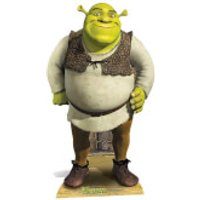 Shrek - Shrek Mini Cardboard Cut Out - Shrek Gifts
