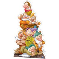 Snow White - Seven Dwarves Cardboard Cut Out - Snow White Gifts