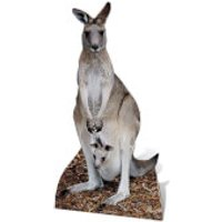 Kangaroo Lifesize Cardboard Cut Out - Kangaroo Gifts