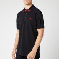 HUGO Men's Dyler Polo Shirt - Black - M
