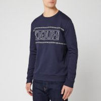 HUGO Men's Dicago Sweatshirt - Dark Blue - XL