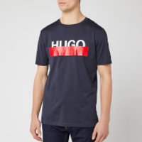 HUGO Men's Dolive T-Shirt - Dark Blue - XL