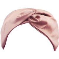 Slip Silk Twist Headband (Various Colours) - Pink