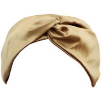 Slip Silk Twist Headband (Various Colours) - Gold