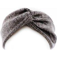 Slip Silk Twist Headband (Various Colours) - Leopard