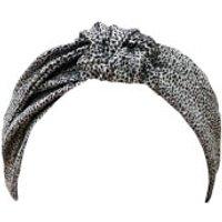 Slip Silk Knot Headband (Various Colours) - Leopard