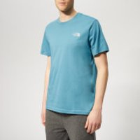 The North Face Men's Simple Dome Short Sleeve T-Shirt - Storm Blue - M