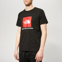 The North Face Men's Raglan Redbox Short Sleeve T-Shirt - TNF Black - XXL