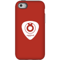 Ei8htball White Plectrum Logo Phone Case for iPhone and Android - iPhone 5C - Tough Case - Gloss