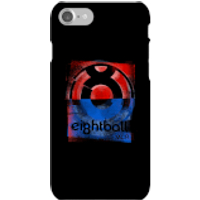 Ei8htball Messy Stencil Logo Phone Case for iPhone and Android - iPhone 7 - Snap Case - Gloss