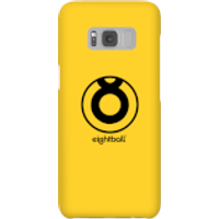 Ei8htball Large Circle Logo Phone Case for iPhone and Android - Samsung S8 - Snap Case - Gloss