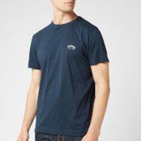BOSS Men's Curved T-Shirt - Navy - XL