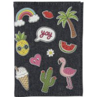 Sass & Belle Patches & Pins Passport Cover - Passport Gifts