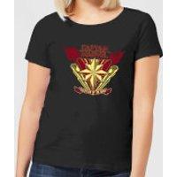 Captain Marvel Protector Of The Skies Women's T-Shirt - Black - XS - Black