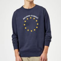 B*llocks To Brexit Sweatshirt - Navy - XXL - Navy