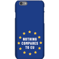 Nothing Compares To EU Phone Case for iPhone and Android - Samsung S6 - Snap Case - Gloss